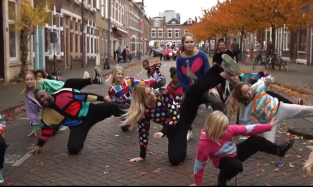 Video: Flash Mob Celebrates Lady Who's Knit More Than 550 Sweaters Since 1955 … This Is Her Story