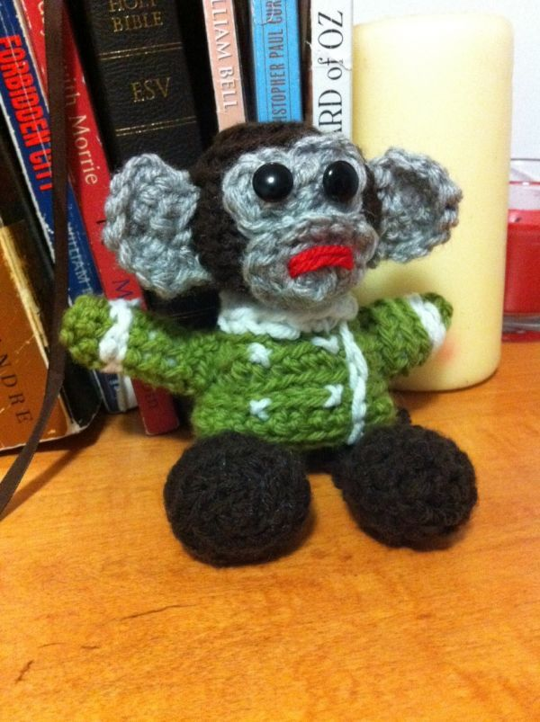 Jessica Nevin Crocheted an IKEA Monkey Amigurumi ... and a Psy Too - Gangnam Style!