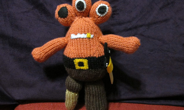 She Knit a Peg, The Three-Eyed Pirate – Get the Pattern!