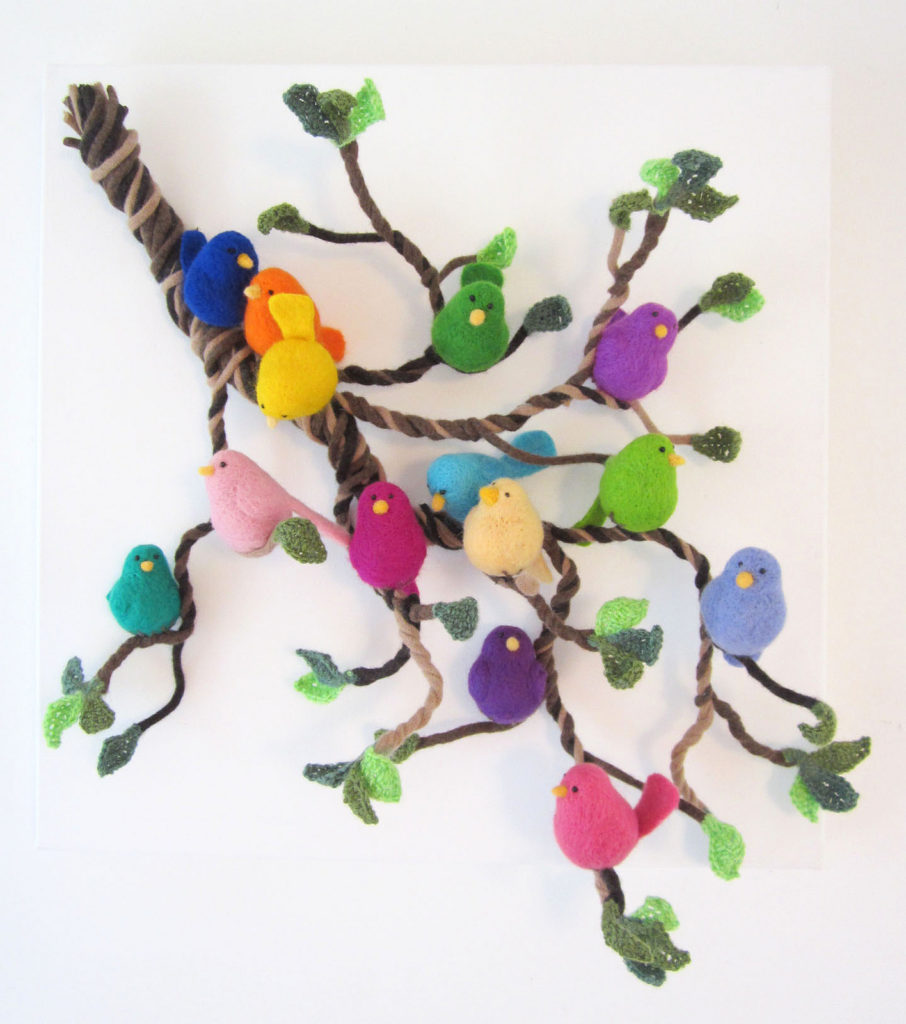 needlefelt birds