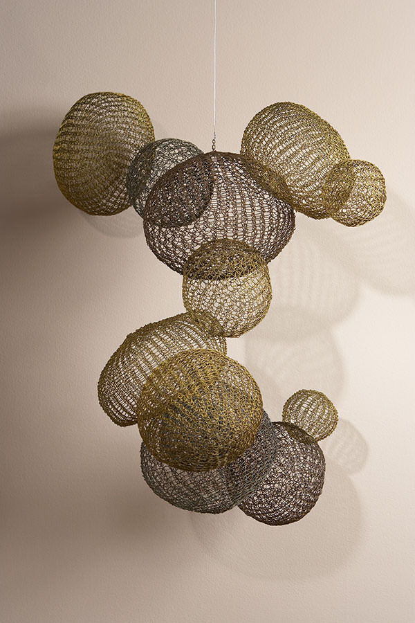 Crocheted Wire Sculpture By Ruth Asawa