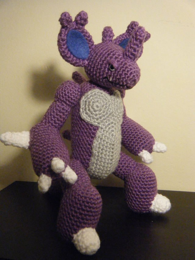 nidoking_amigurumi_commission_by_icrazio-d5vfesf