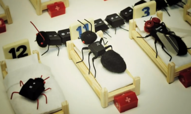 'Insect Hospital' ~ Video By Hiné Mizushima, Song By They Might Be Giants