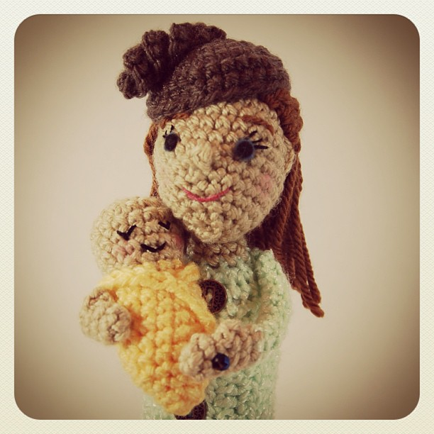 Allison Hoffman aka 'Crafty Is Cool' Presents the First Royal Baby Amigurumi
