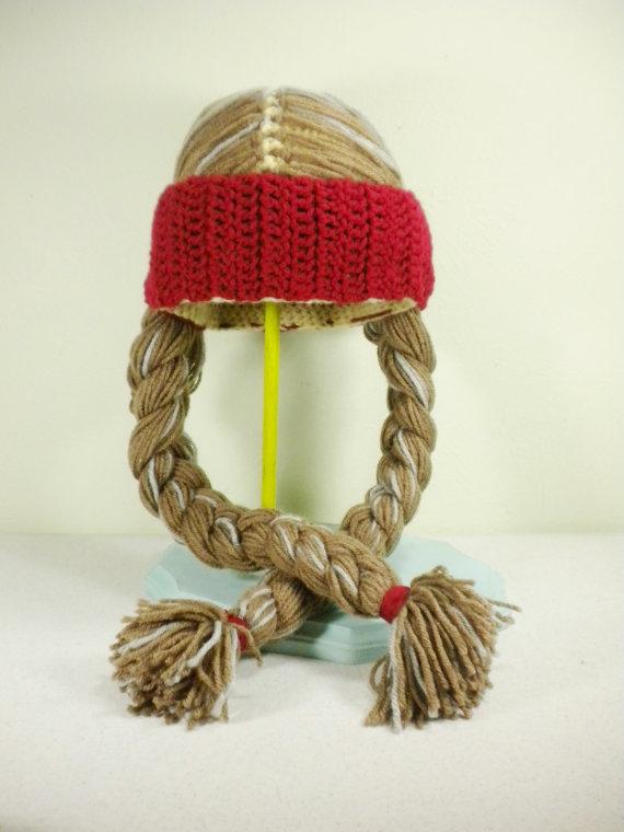 Crochet Willie Nelson Hat