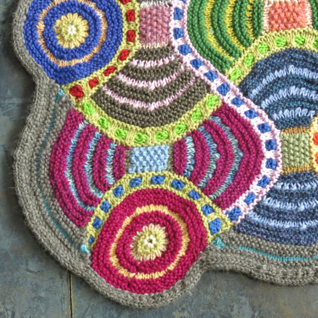 Knit An African Adventure Afghan, A Gorgeous Patchwork Quilt Designed By Horst Schulz