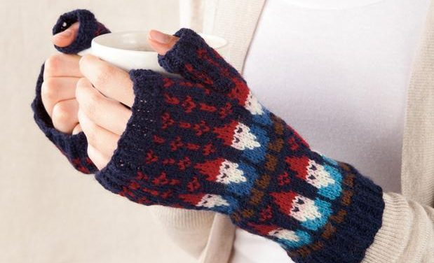 Mighty Knitted Mittens for Mighty Gnomads Like Us
