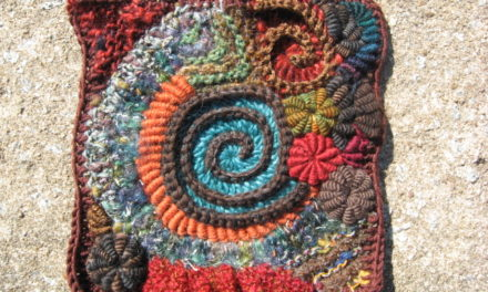 spirally afghan square – gorgeous!