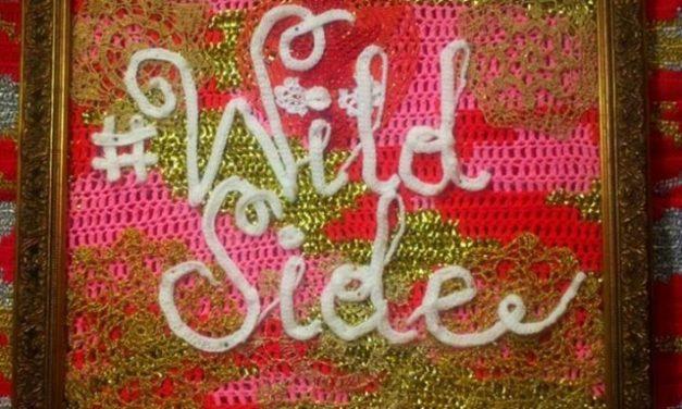 Olek's Crochet Tribute To Lou Reed … Doo Do Doo Do Doo Do Do Doo …