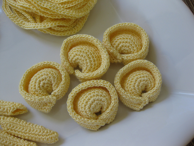 Crochet a Pasta Party With This Yummy Set - 100% Carb-Free!