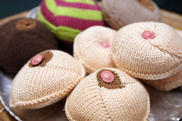 Knitted & Crocheted Breast Prostheses