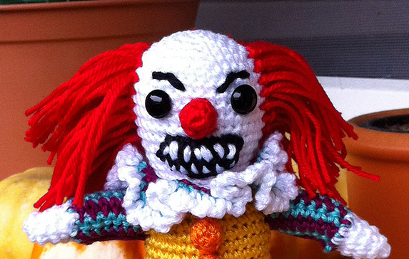 This Pennywise the dancing clown terrifies me …