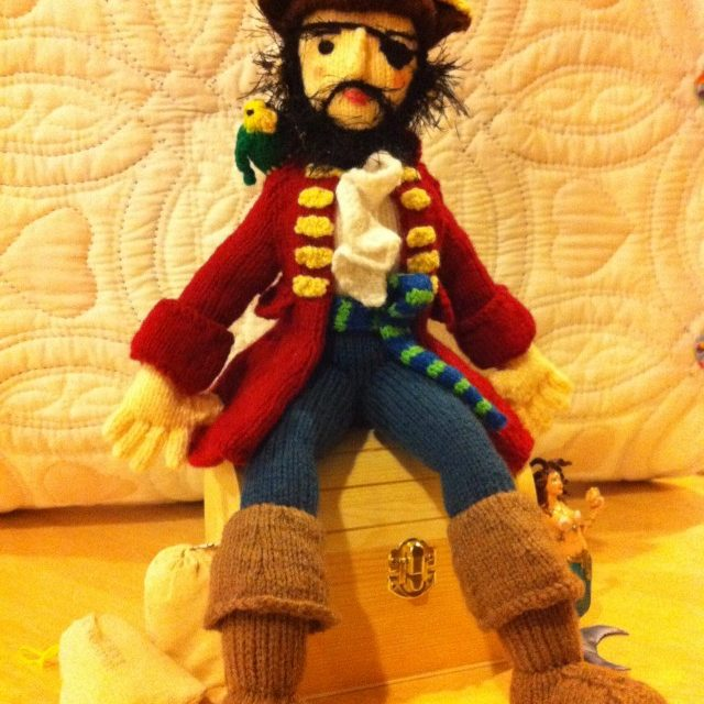 Crystal Knit This Amazing Barnacle Bill Pirate