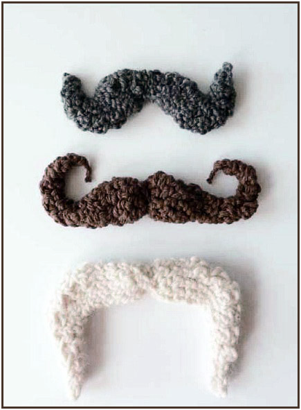It's Not Too Late To Crochet This Mustache For Halloween …