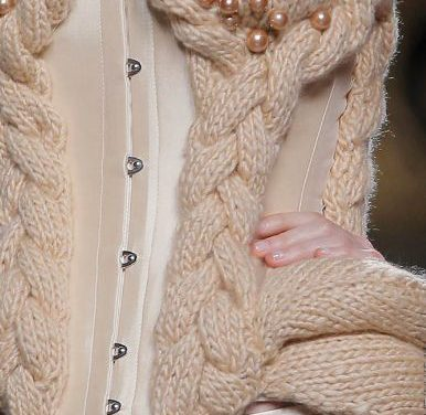 Beautiful Knit Corset by Maya Hansen
