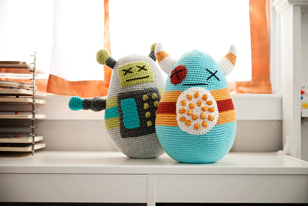 Crochet a Cute 'Baddies' Amigurumi With This Free Pattern … So Creative & Cute!
