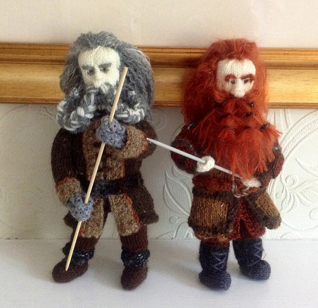 Oin & Gloin Hobbit Dwarves