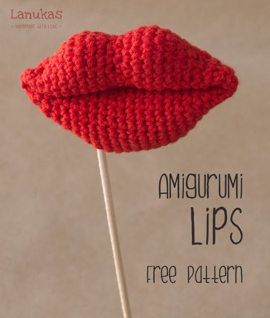 Free Pattern: These Luscious Lips Crochet Up Fast
