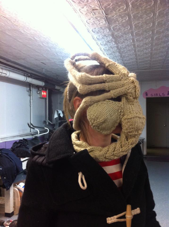 Katie Freemans Famous Knitted Facehugger Knithacker