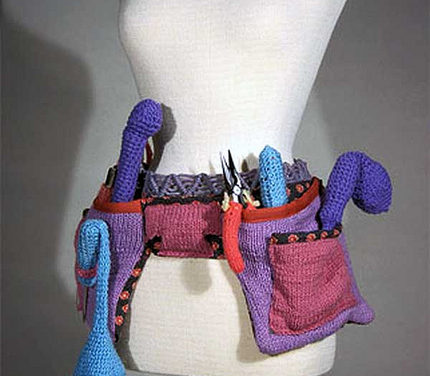 Theresa Honeywell's Knit Tool Belt