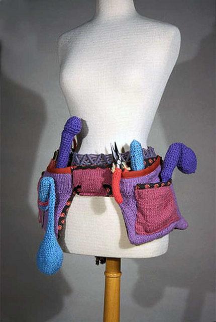 Theresa Honeywell's Knit Tool Belt