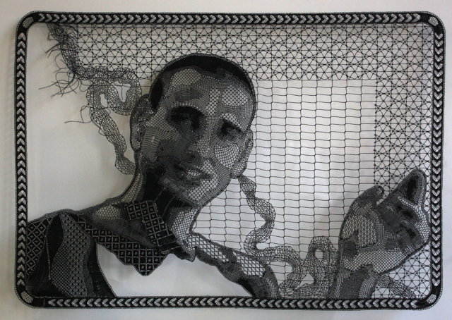 Pierre Fouché's photographic lace