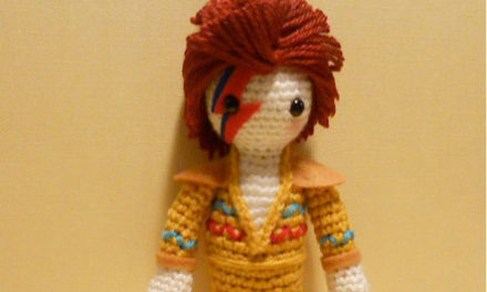 David Bowie Amigurumi Crocheted By Miss Dolkapots