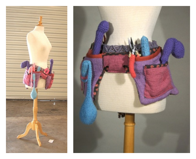 Theresa Honeywell's Knitted Tool Belt