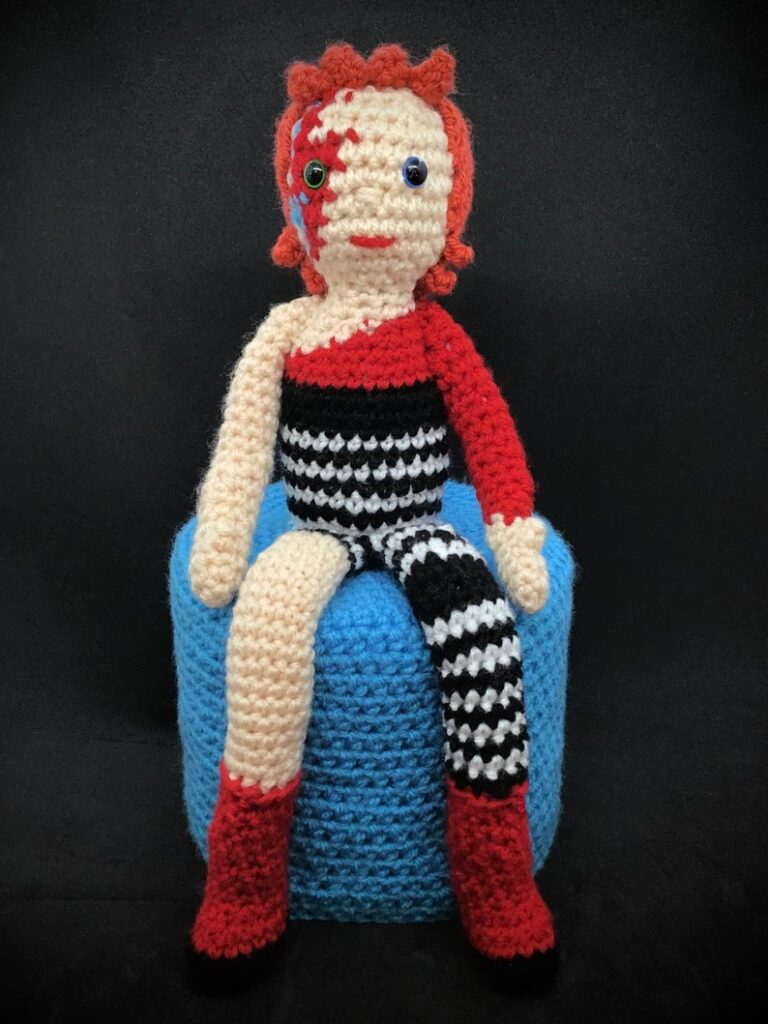 David Bowie amigurumi patterns #crochet #amigurumi