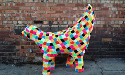 Liverpool's First Crocheted Lambanana