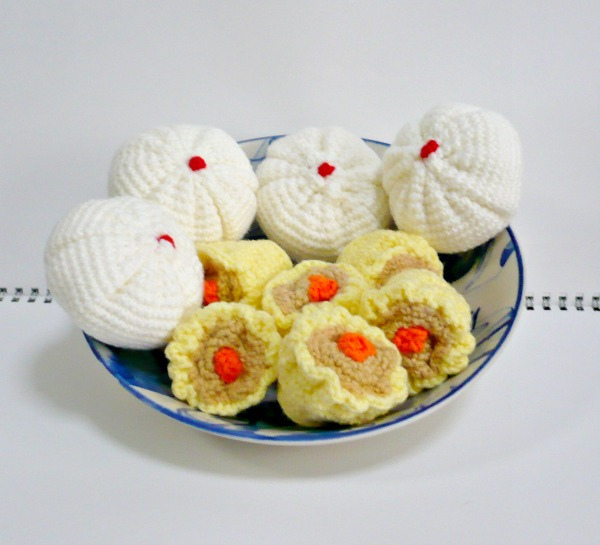 Crochet a Set of Dim Sum Amigurumi