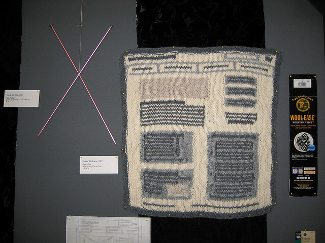 She Knit a Wireframe!