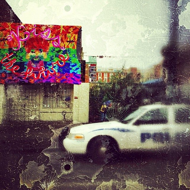 """Olek in Vancouver – """"Kiss the Future"""""""