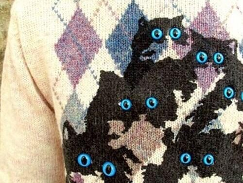 Brilliant Cat Sweaters Pretty Snake – Genius!
