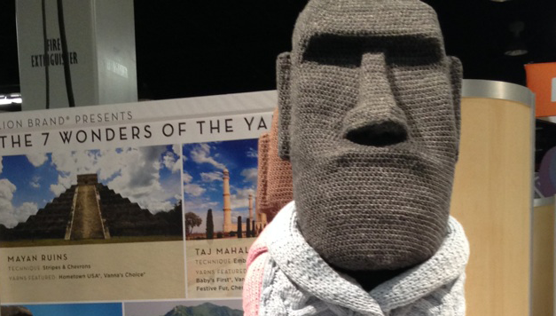 7 Wonders of the Yarn World by Nathan Vincent for Lion Brand Yarn