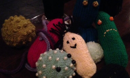WANTED: Knitted microbes for Glasgow City of Science project!