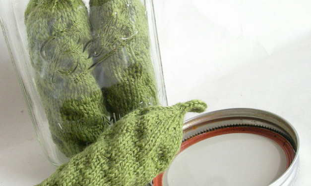 Velma Root's Knit Pickles Are The Best!