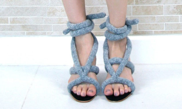 Knit Rope Sandals – Would You?
