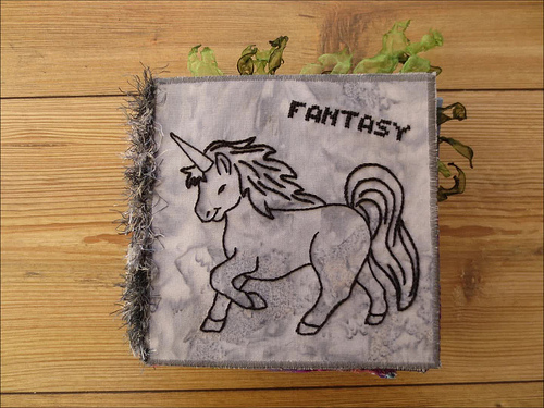 fantastic fantasy fabric book