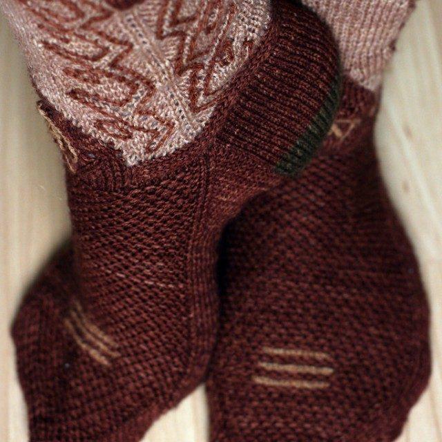 great idea – cowboy socks!