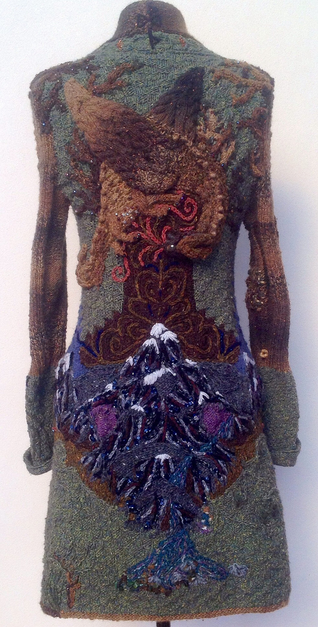 The Knitting Witch's Hobbit-Inspired Jacket