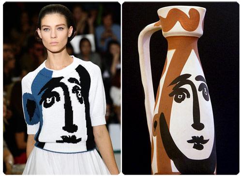Jill Sander's Spring 2012 Picasso