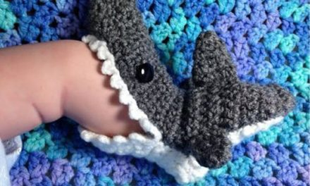 It's Shark Week Every Week With These Killer Bite Booties – Great Gift Idea!