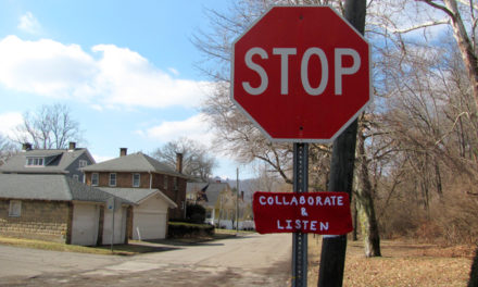 Stop, Collaborate and Listen … Hi, Jenny Brown Rocks a Hook Like A Vandal …
