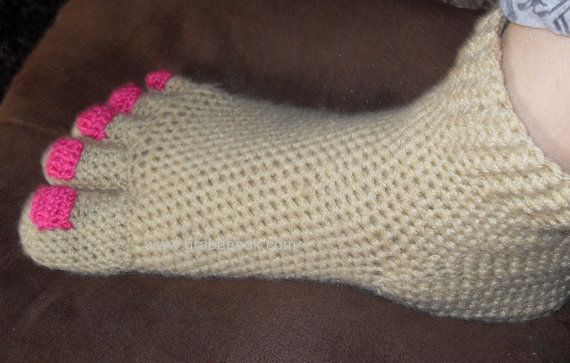 Forgot to Schedule a Pedicure? Crochet Solution In 3 .. 2 .. 1 ..
