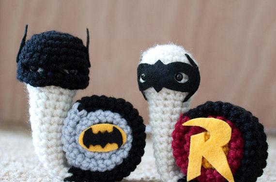 Crochet Superhero Snail Amigurumi!