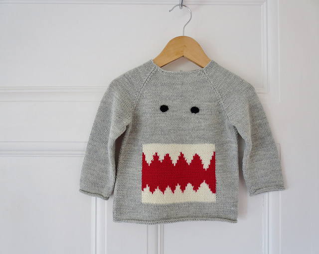 Ginger Gooseberry's Dapper Domo Sweater