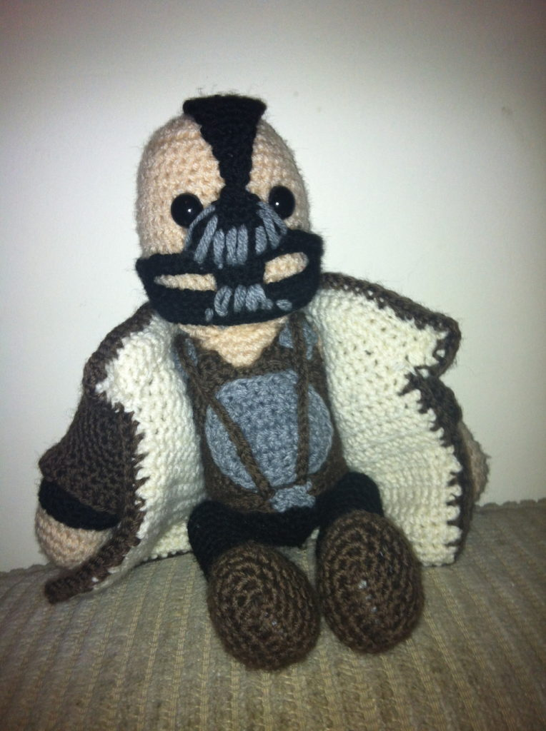 Bane amigurumi made by Just Add Awesome