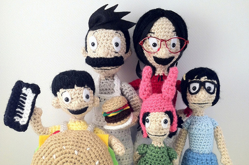 Bob's Burgers Celebrated in Knit and Crochet!