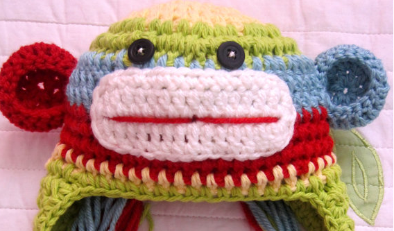 Finn's Pick: Sock Monkey Hat